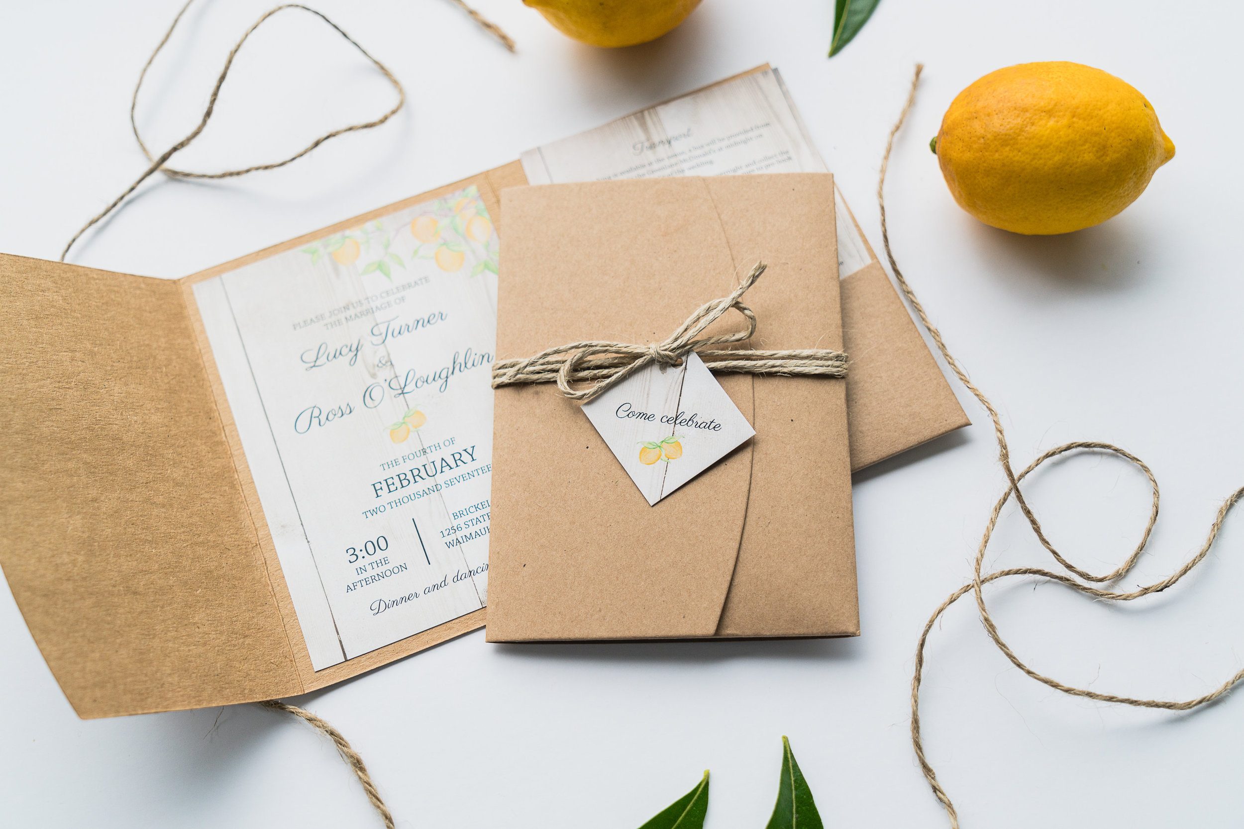 Invitations by Creative Box    Image by Brooke Baker; Photo Taker, Magic Maker