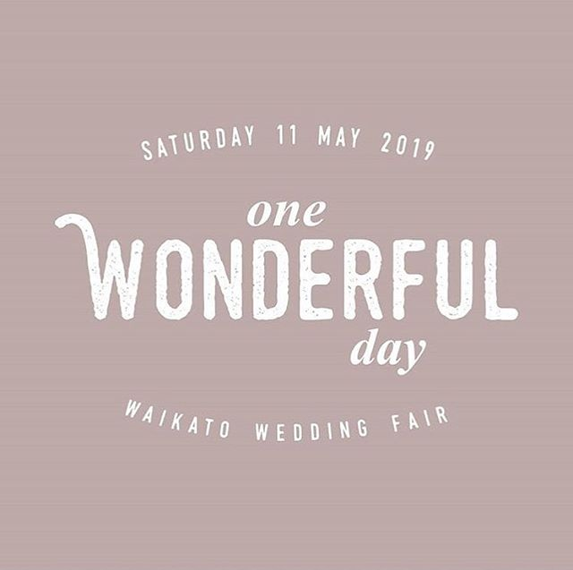 . @onewonderfuldaynz is our fav local wedding fair, here for you the Waikato lovers 💚  It's happening again very soon - May 11, 2019. Yay! So if you planning your own Waikato wedding and like chatting to friendly folk about how they might best be able to help you, get in there!  We also hear there will be complimentary visitor mock-tails 🍹🍸 Not only that, they have a great online special for multiple entry tickets purchased @ $7.50 each. 💥 www.onewonderfulday.co.nz/tickets  #wedinwaikato #onewonderfulday #waikatoweddingfair #waikatoweddings #nzwedding #shesaidyes #wedding #bride #waikato #justalittleloveinspo #lovethetron #weddingvendors #weddingplanning #weddingplanningideas #bridetobe #weddingfair #weddingexpo #newzealandwedding #nzwedding #waikatowedding