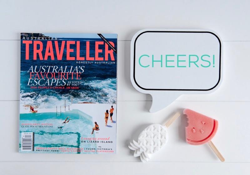 Australian Traveller Magazine Iconic Bondi edition