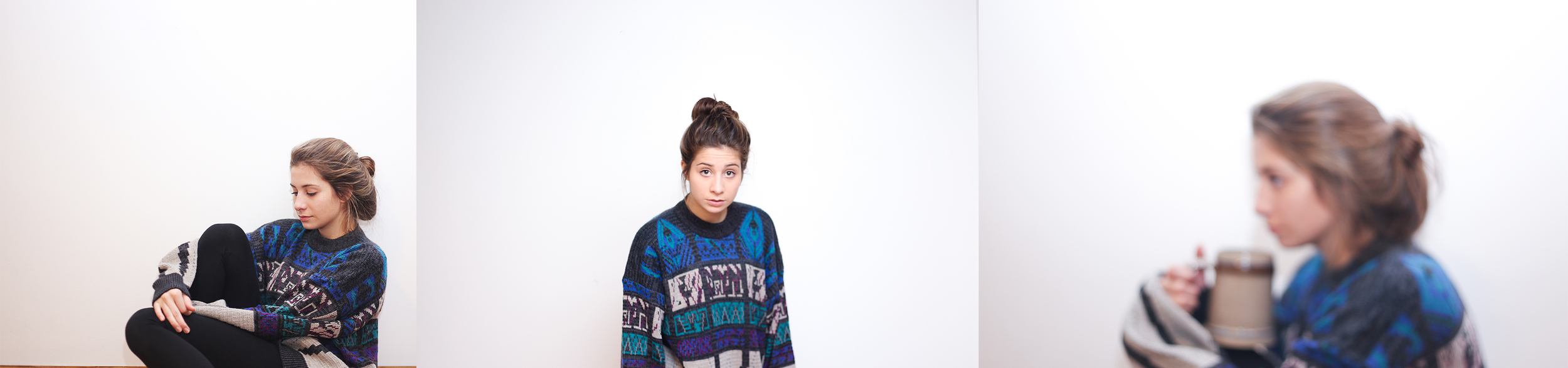 Yes, we both adore this sweater, the pattern is too funky and the material is just magical, this was a steal for just $4.