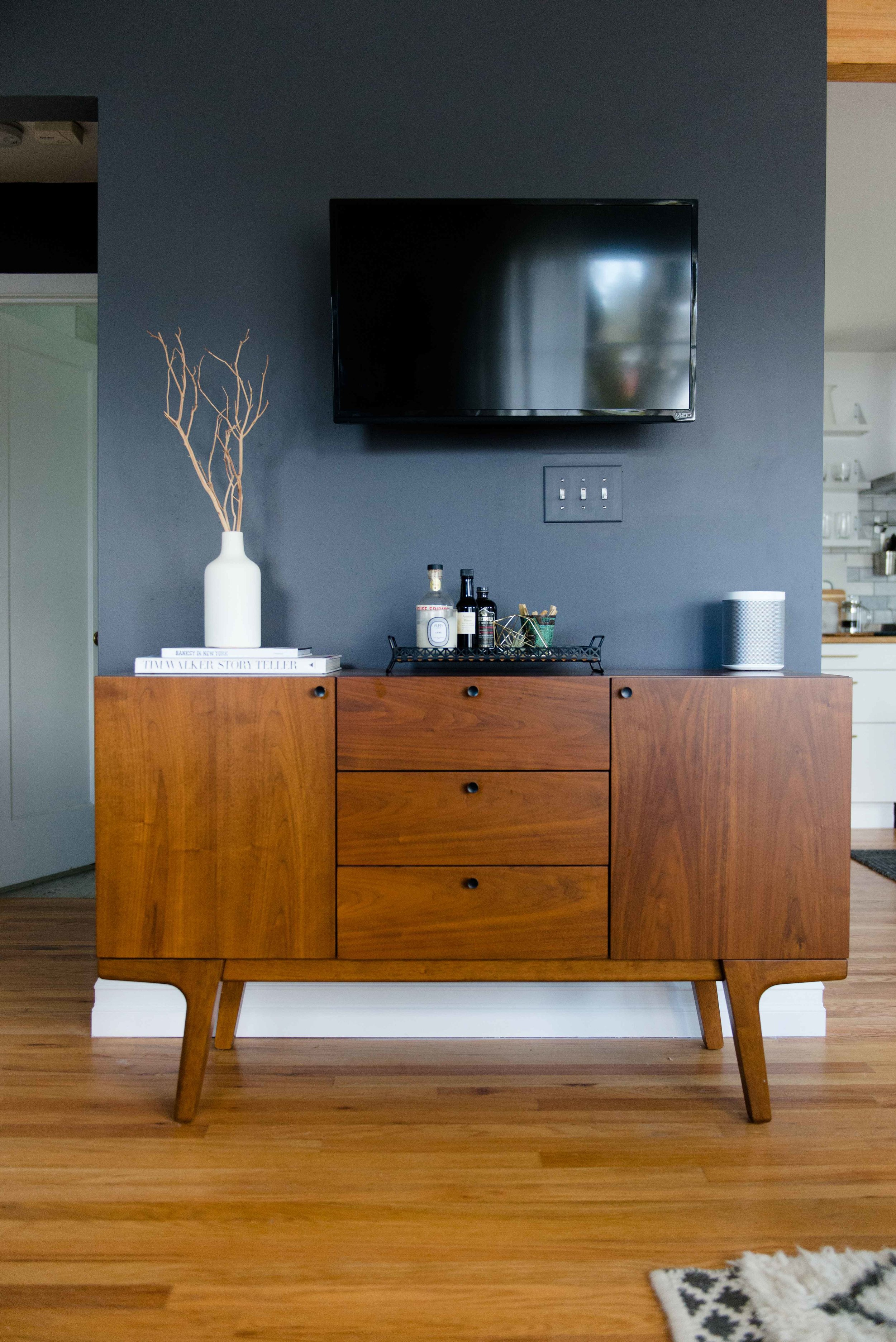 portland home, home design, interior design, mid-century modern, arbor and co, home staging, west elm