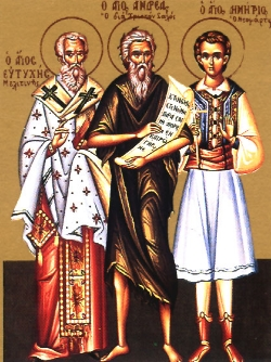 Saint Demetrios the New Martyr