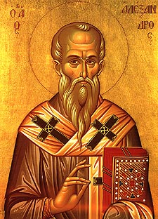 St. Alexander the Patriarch of Constantinople  Please click on the Icon to view bulletin.