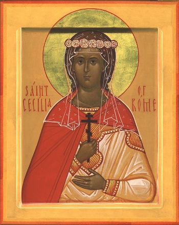 Martyr Cecilia at Rome  Please click on Icon to view bulletin