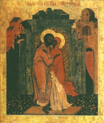 Conception by Righteousness Anna of the Most Holy Mother of God