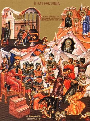 14,000 Infants (Holy Innocents) slain by Herod at Bethlehem