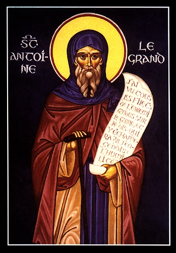 Saint Anthony the Great  Please click on Icon to view bulletin
