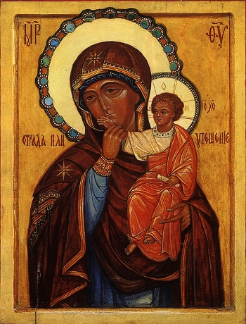 "icon of the Mother of God ""Comfort"" or ""Consolation"""