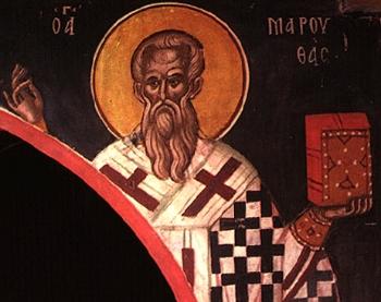 St. Maruthas the Bishop of Martyropolis in Mesopotamia