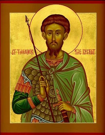 "St. Theodore the Tyro (""the Recruit"")"