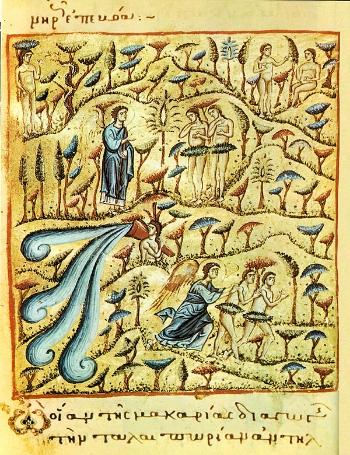 Expulsion of Adam from Paradise