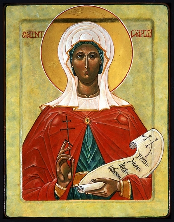 Martyr Daria and those with her at Rome