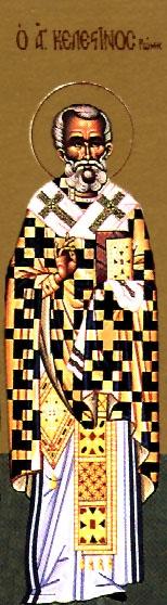 St. Celestine the Pope of Rome