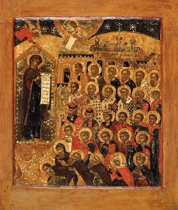 """Icon of the Mother of God """"the God Loving"""""""