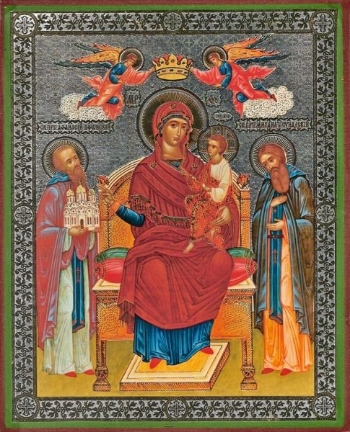 """Icon of the Mother of God """"Economissa"""""""