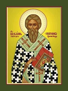 St. John the Faster the Patriarch of Constantinople