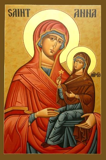 Holy Righteous Ancestor of God, Anna