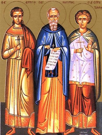 Venerable Maximus Kavsokalyvites of Mt. Athos