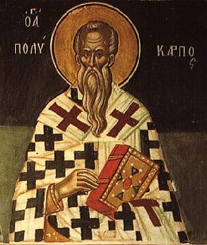 Hieromartyr Polycarp the Bishop of Smyrna