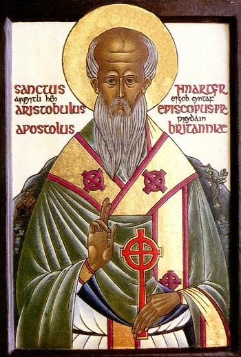 Apostle Aristobulus of the Seventy the Bishop of Britain