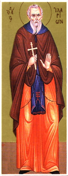 Venerable Hilarion the New the Abbot of Pelecete