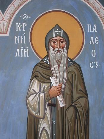 St Cornelius the Abbot of Paleostrov