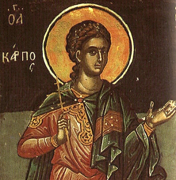 Apostle Carpus of the Seventy