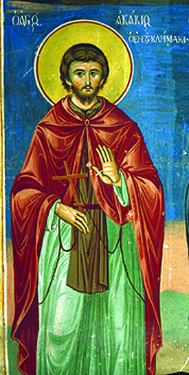 Venerable Acacius of Sinai, who was mentioned in the Ladder