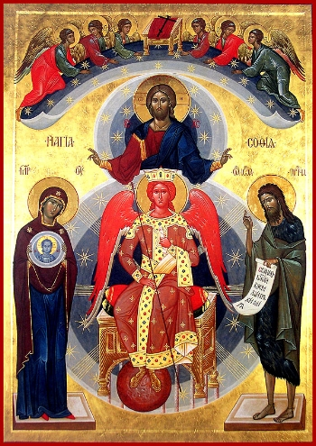 Icon of Sophia, the Wisdom of God