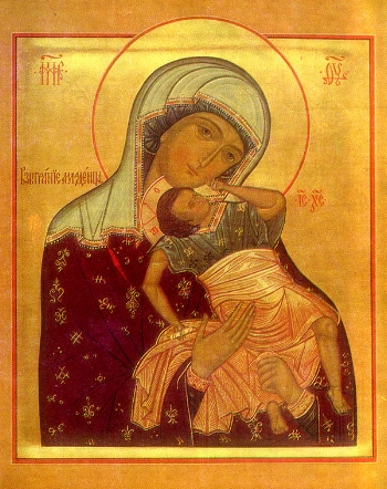 """Icon of the Mother of God """"the Joyful"""""""