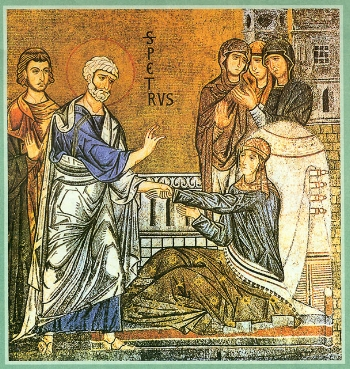 St. Tabitha the Widow, raised from the dead by the Apostle Peter
