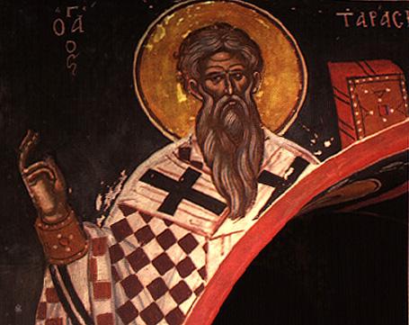 St. Tarasius the Archbishop of Constantinople