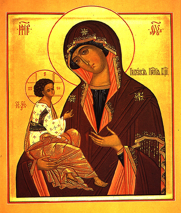 Icon of the Mother of God of Greben