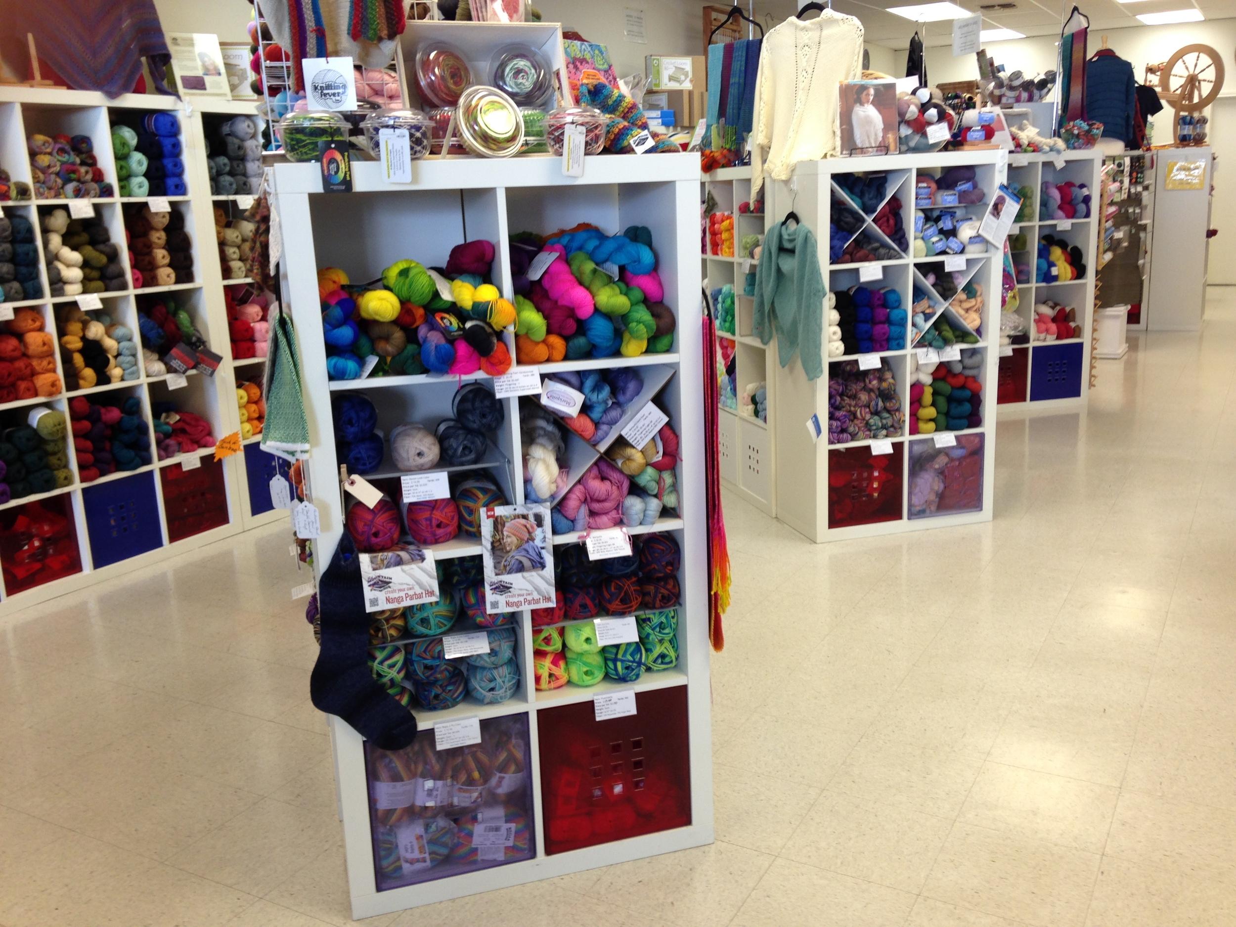 So much yarn!!
