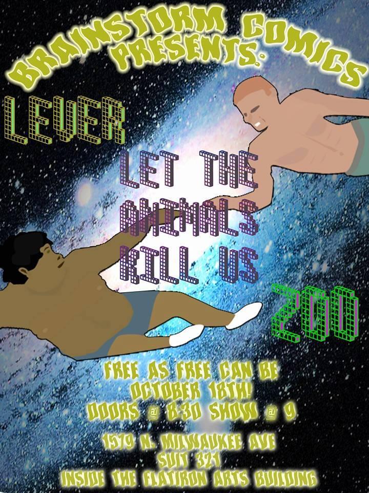"""Brainstorm Comics Presents: """"Let The Animals Kill Us"""""""