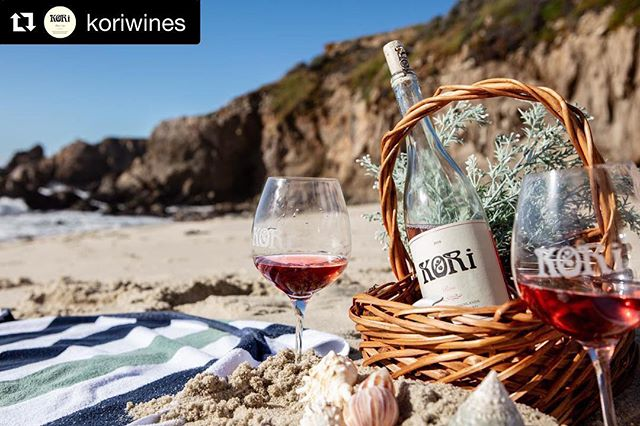 #Repost @koriwines with @get_repost ・・・ Rain, rain go away it's time to drink rosé at the beach all day! Our first #rosé made exclusively from our Highlands Ranch vineyard's Pinot Noir.  Pouring soon in Carmel-by-the-Sea, DM about immediate local availability.  #wine #montereywines #roséallday #localwine #californiawine #pinotnoir #koriwines #santaluciahighlands