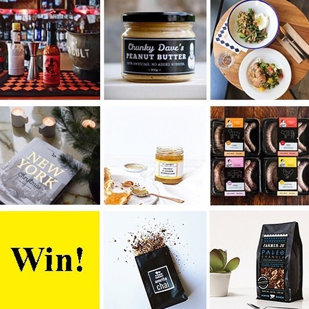 Win Win Win! 🎁🎁🎁 We've teamed up with some of our favourite local small food producers to put together a delicious Xmas give away just for you! Enter for your chance to win a heap of yummy goodies just in time for Xmas!  For your chance to win all the prizes listed below: -Follow all accounts below:  @thejambandits @handsomedeclvilsco @farmerjomuesli @murdochbooks @brewtowncoffeeroasters @chunkydave @chrissyscuts @theveaganteahouse -Like this post -Tag a friend in the comments below. -For an extra entry repost this picture using hashtag #banditxmasgiveaway  Prizes : - 3 Jars of jam & marmalade from @thejambandits - 2 x 'The Doctor' Hot Sauce from @handsomedevilsco - Muesli from @farmerjomuesli - 3 Jars's of Peanut Butter from @chunkydave - $30 voucher to be used at any @brewtowncoffee roasters location - 1 x Copy of New York Xmas Cook Book by @murdochbooks - 4 x packs of gourmet sausages from @chrissyscuts - 3 x bags of Farmer Jo Muesli - 3 x signature tea blends from The Vegan Teahouse  Entry is limited to Australia residents. Winner will be drawn on December 15  Good luck!