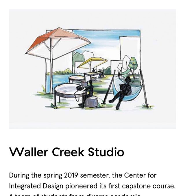 Last Spring I co-taught an amazing Design studio in the Center for Integrated Design here @utsdct and I wrote an article to share some of the highlights! Check out the link in my bio