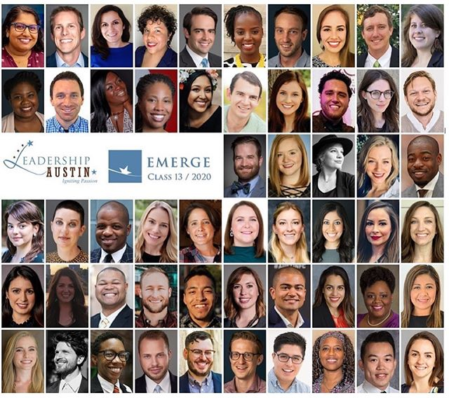 I'm so excited to be a part of Leadership Austin Emerge 2020! @leadershipatx