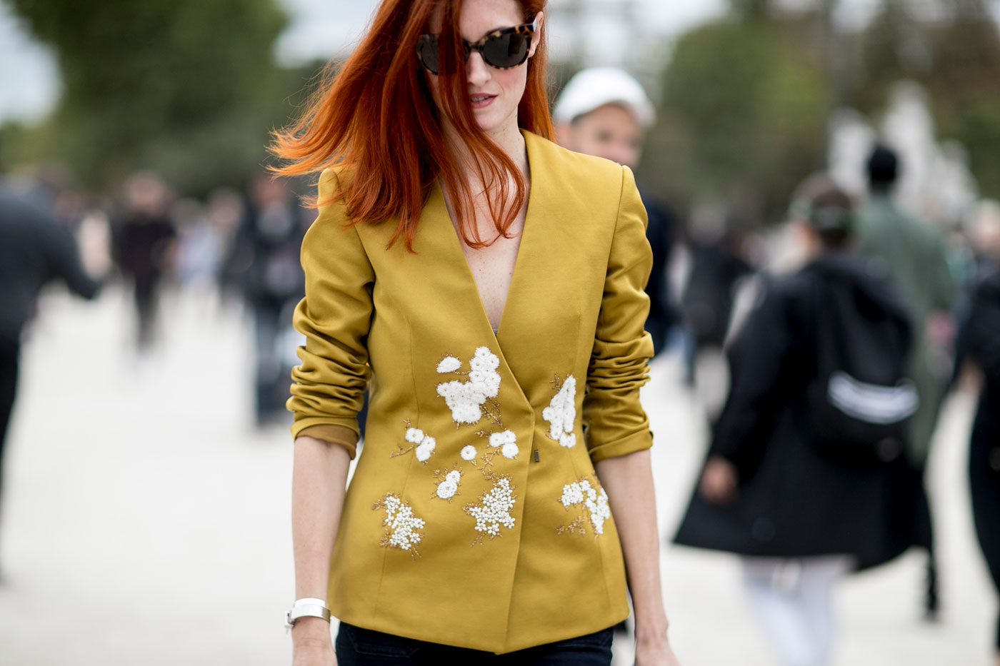 MUSTARD YELLOW: winter's answer to summer's sunny shades...