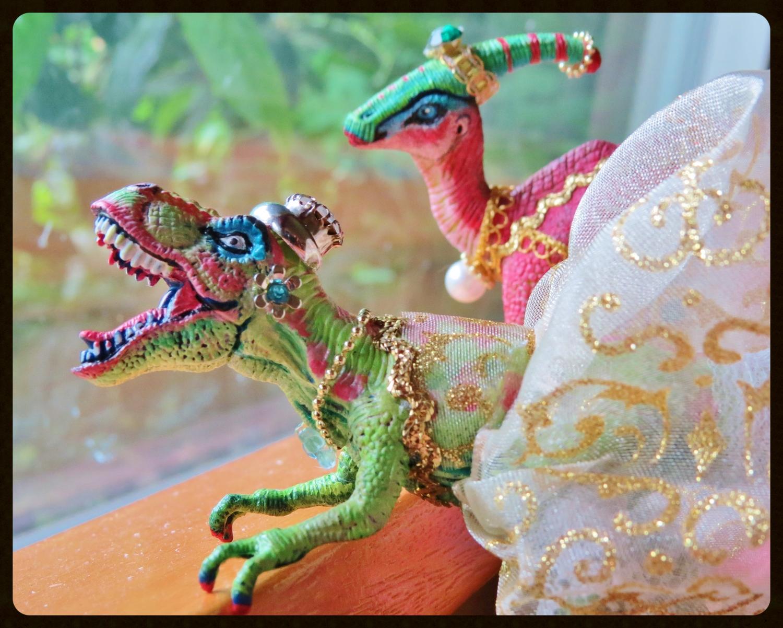 """Rooooooooooooar!!!"" means ""Welcome, and please come in,"" in Dinosaur-ese."