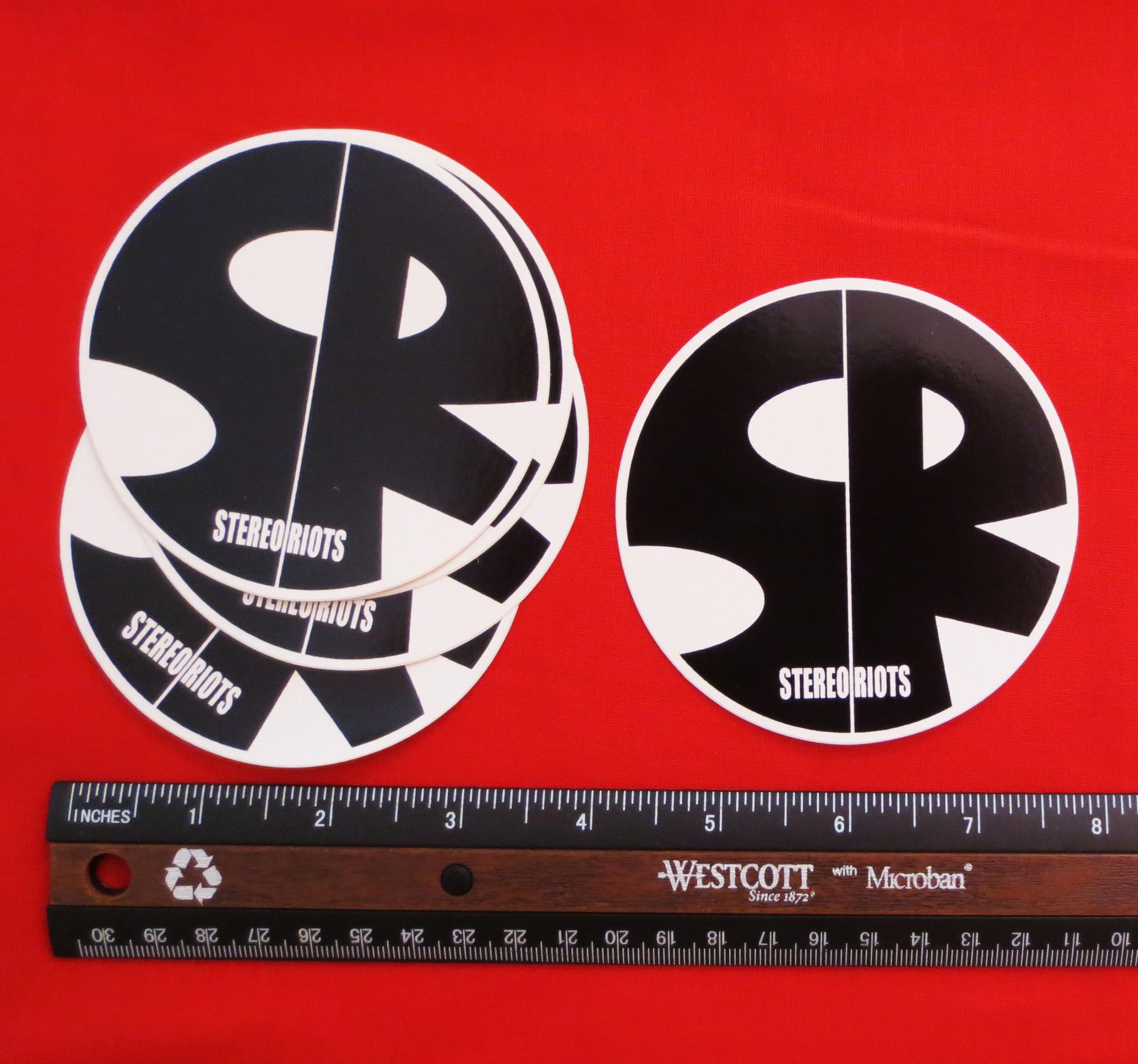StereoRiots Logo Vinyl Sticker