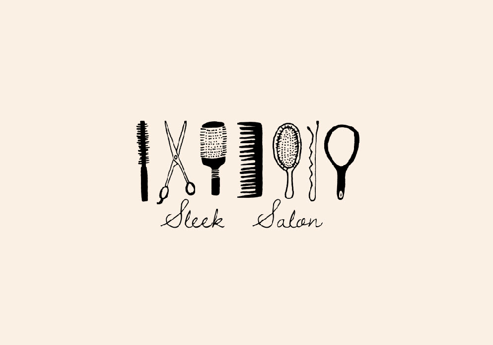 Sleek Salon Logo