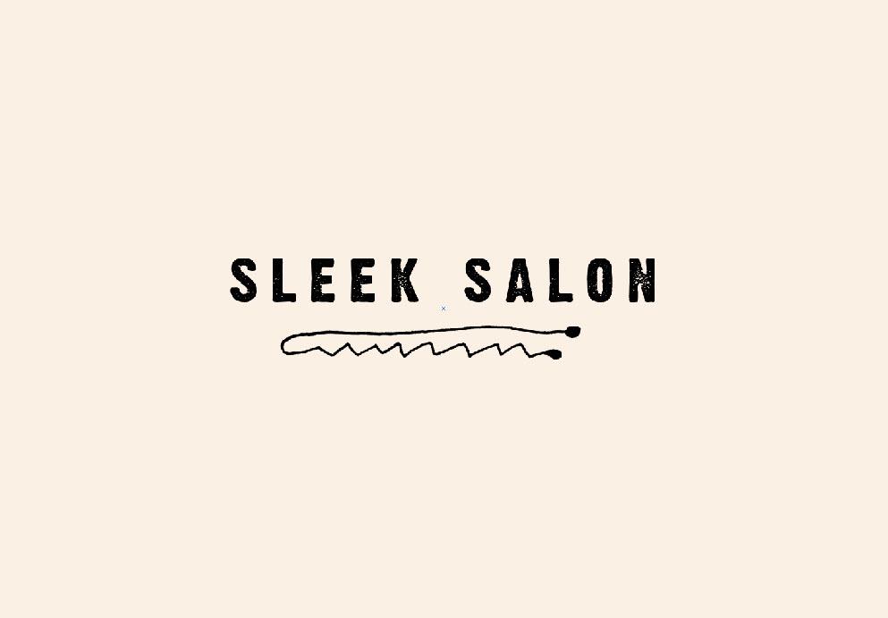 Sleek Salon Secondary Logo