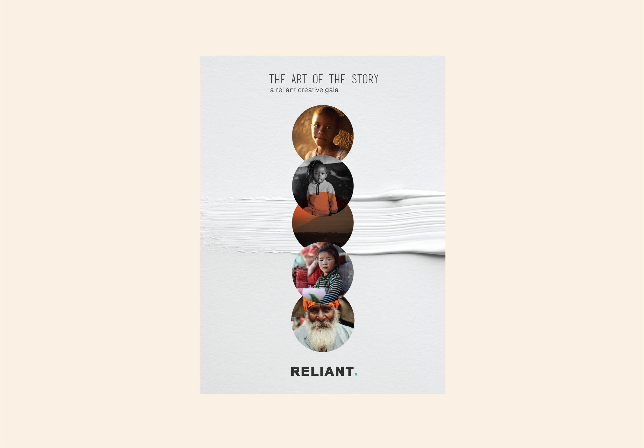 Reliant Creative - The Art of the Story Invite