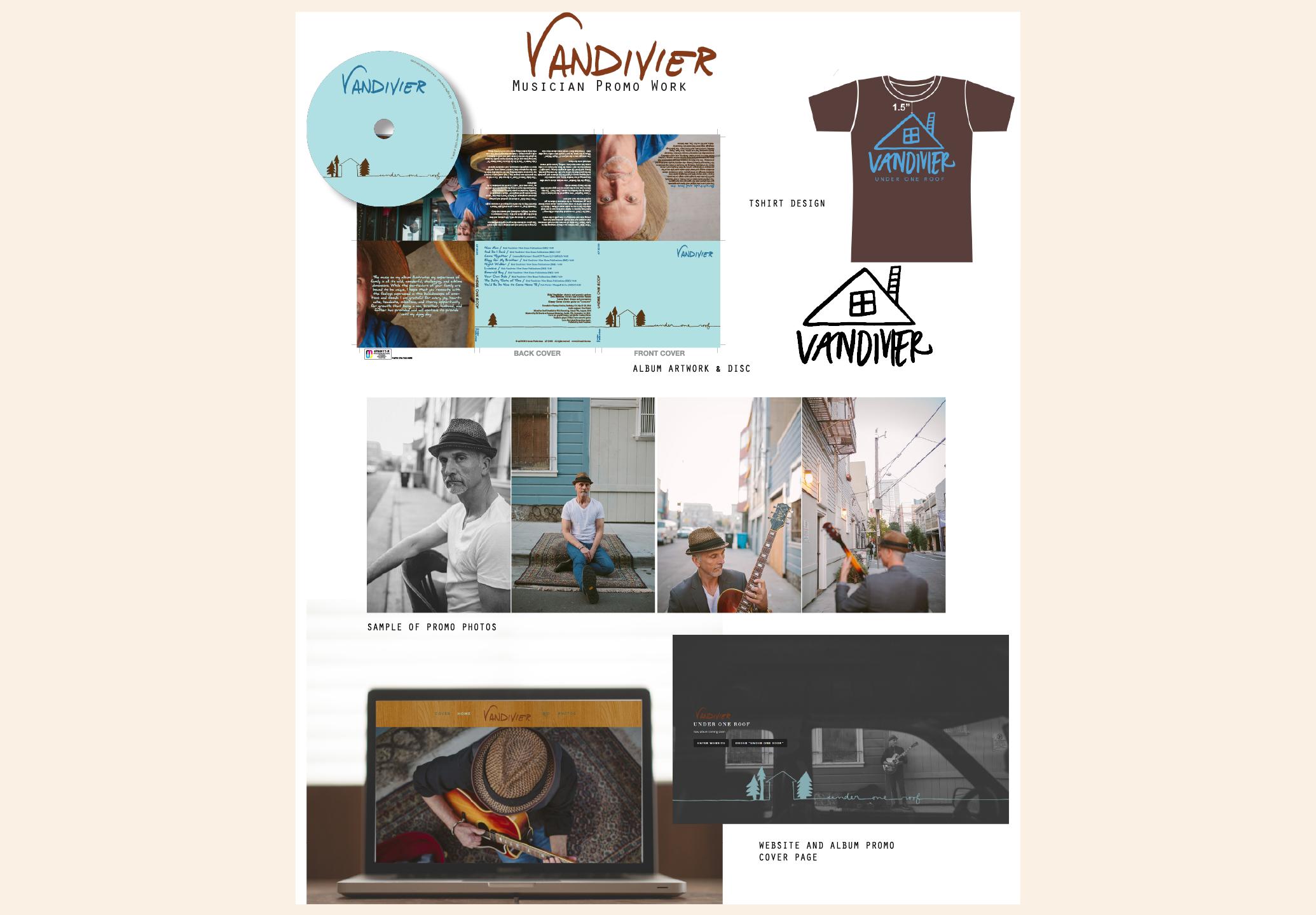 Rick Vandivier - Musician - promo kit