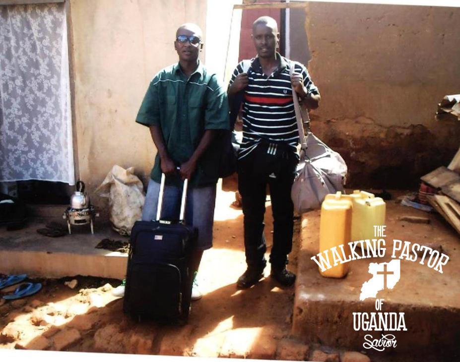 Kusasira, The Walking Pastor of Uganda