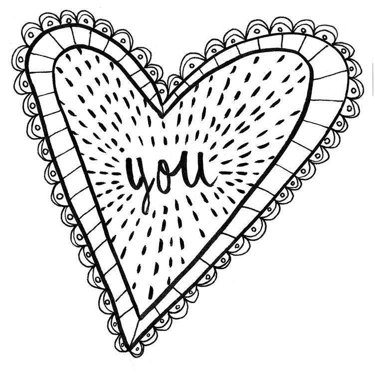 Valentine Concept Sketch