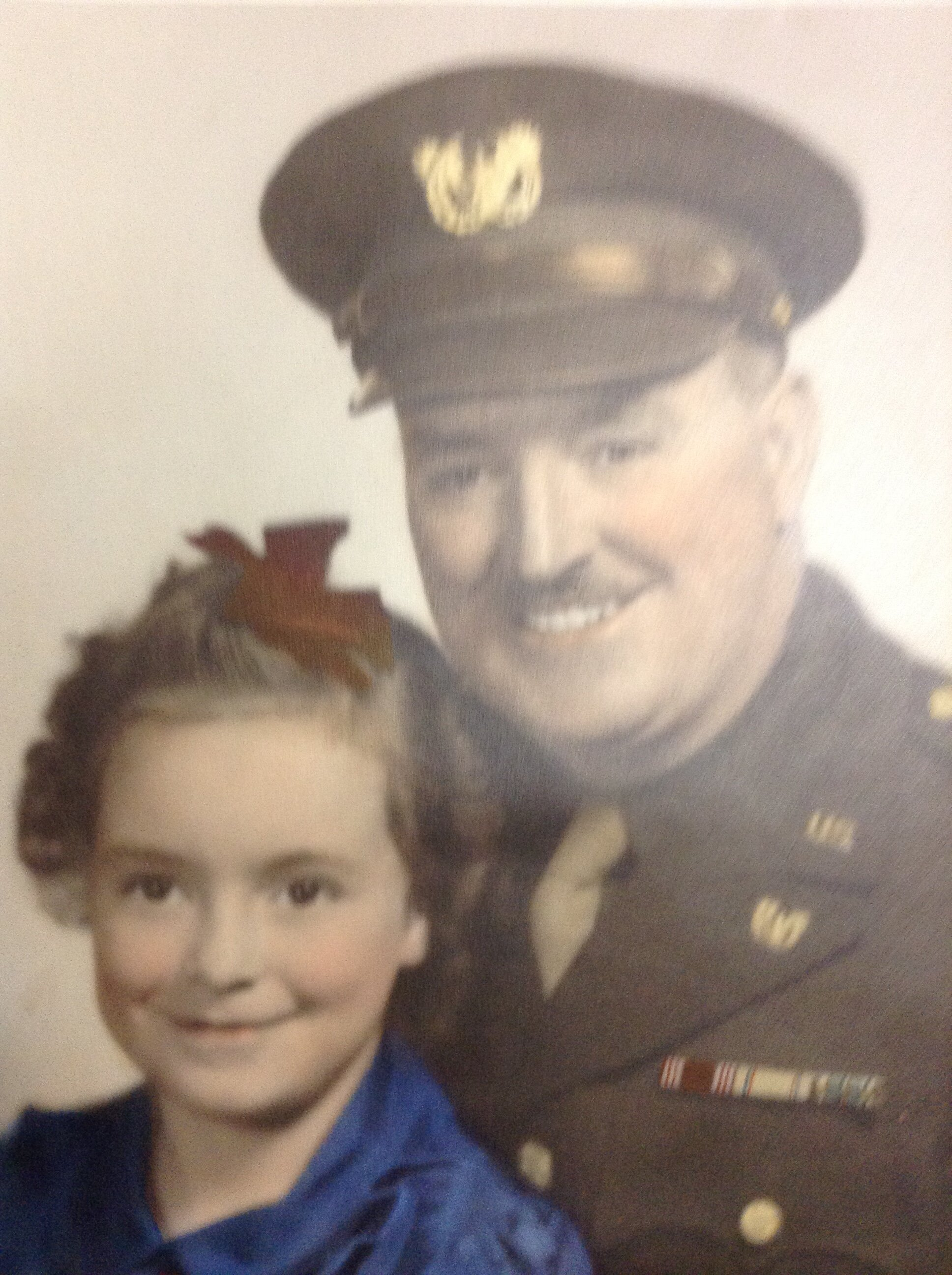 Reginald A. Fletcher, Christina's grandfather, and her mother.