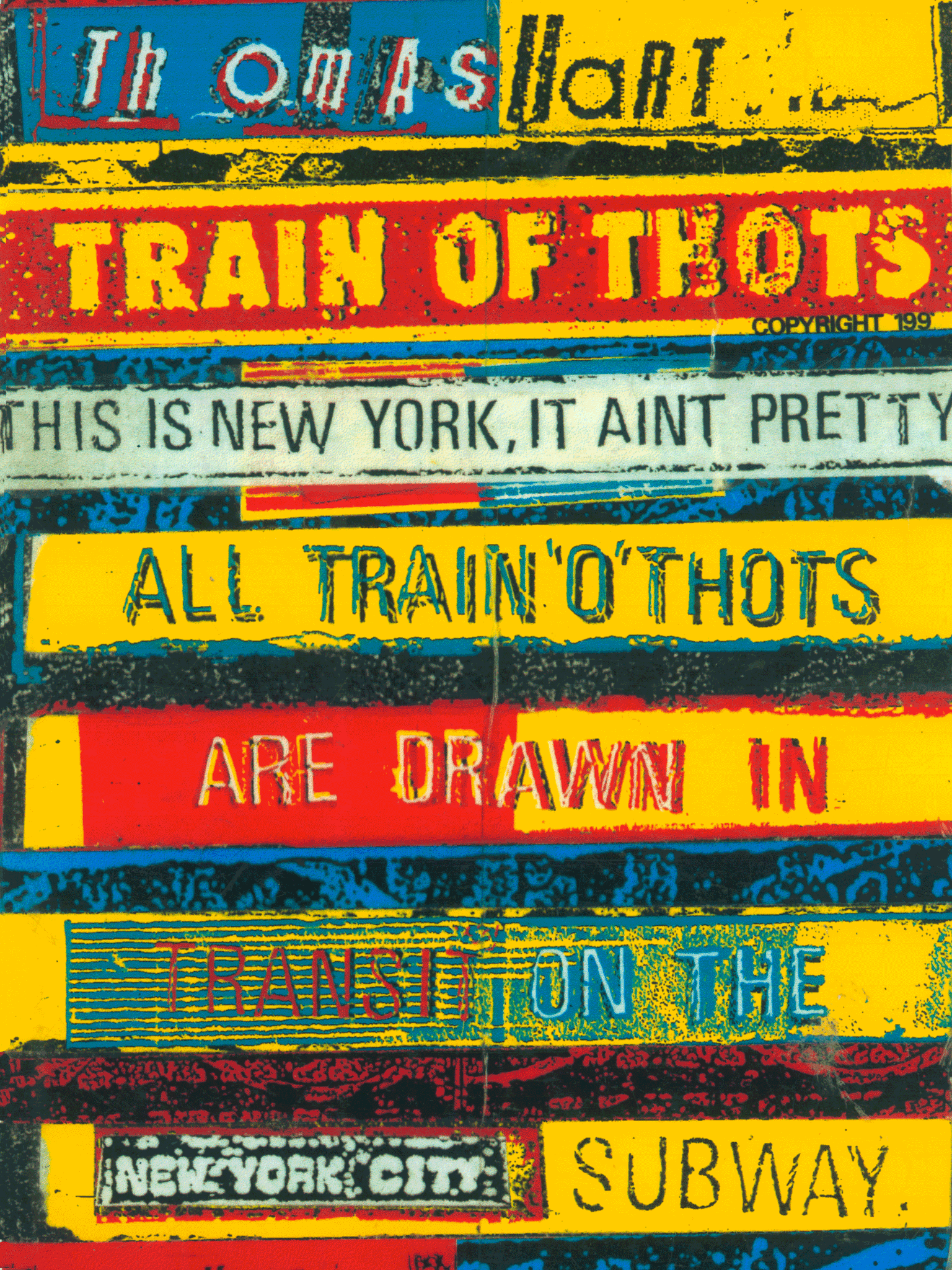 TRAIN O' THOTS  |  TOM HART